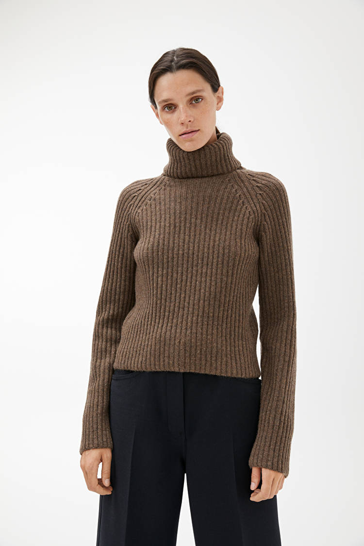 Cashmere Roll Neck Jumper by Arket