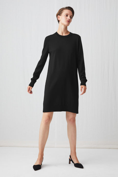 Merino Knit Dress