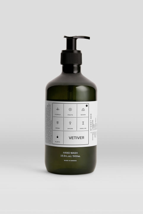 Hand Wash Vetiver, 500 ml