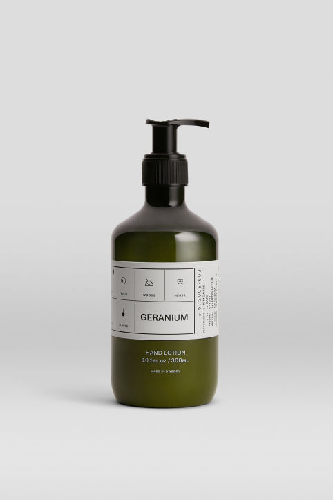 Hand Lotion Geranium, 300 ml
