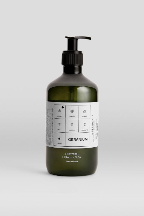 Body Wash Geranium, 500 ml