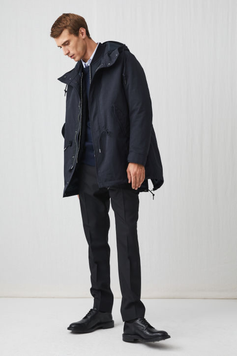 High-Density Fishtail Parka
