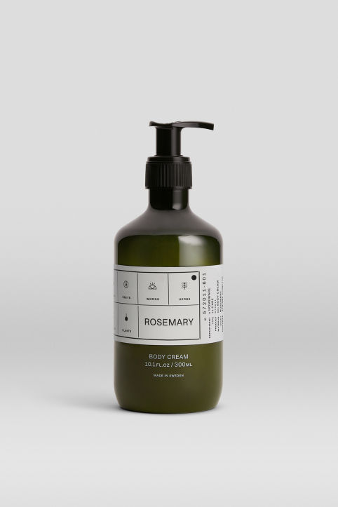 Body Cream Rosemary, 300 ml