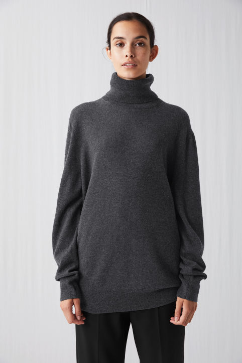 Wool & Yak Roll-Neck Jumper