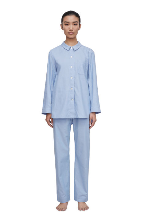 Cotton Flannel Pyjama Shirt