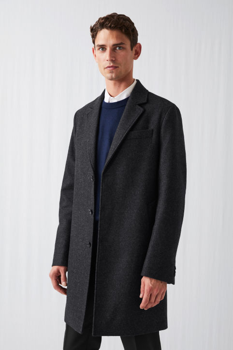 Melton Wool Topcoat