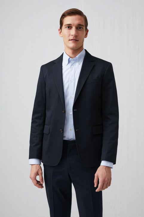 Cotton Twill Blazer