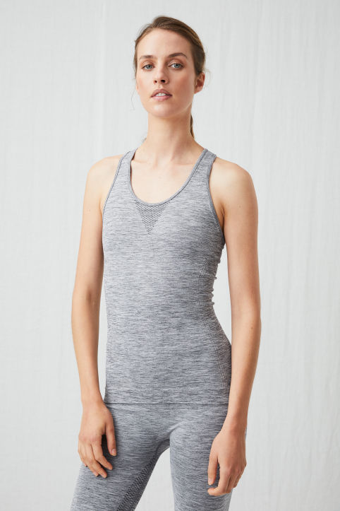 Seamless Yoga Tank Top