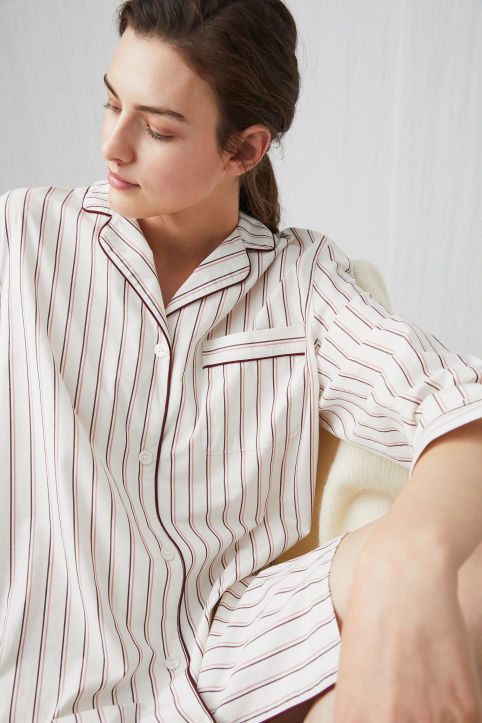 Striped Night Shirt