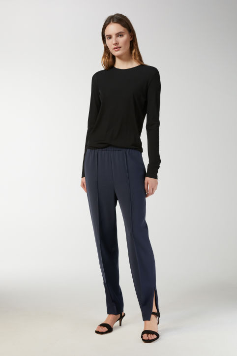Fluid Wool Trousers