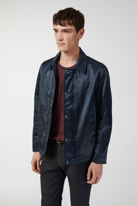 Tumbled Satin Deck Jacket