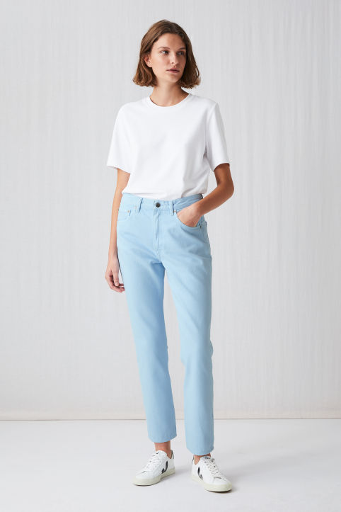Cropped Overdyed Jeans