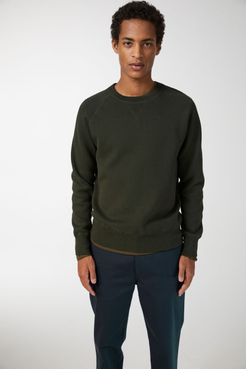 Double-Knit Cotton Jumper