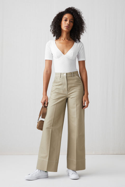 Cotton Workwear Trousers