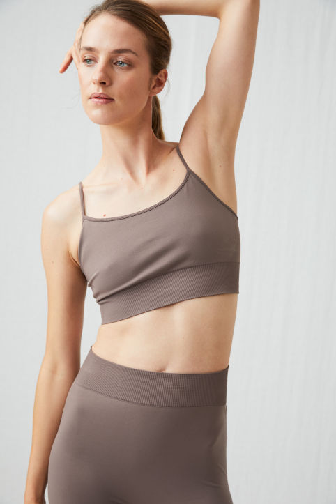 Seamless Yoga Bra