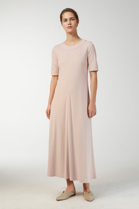 Cotton Modal Ice Crepe Dress