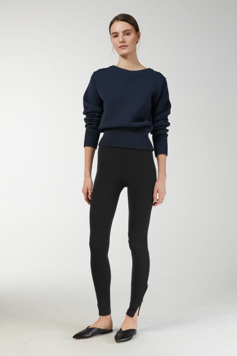 Rib Jersey Leggings