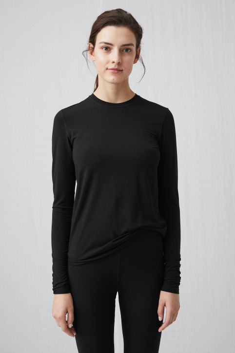 Modal Jersey Long-Sleeve Top