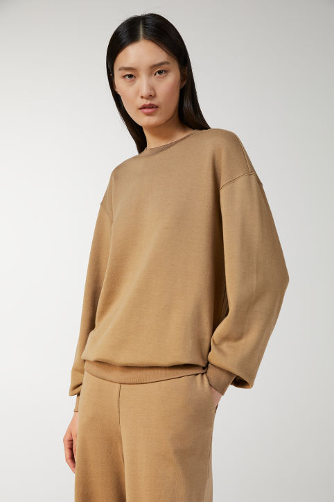 Cotton Silk Sweatshirt