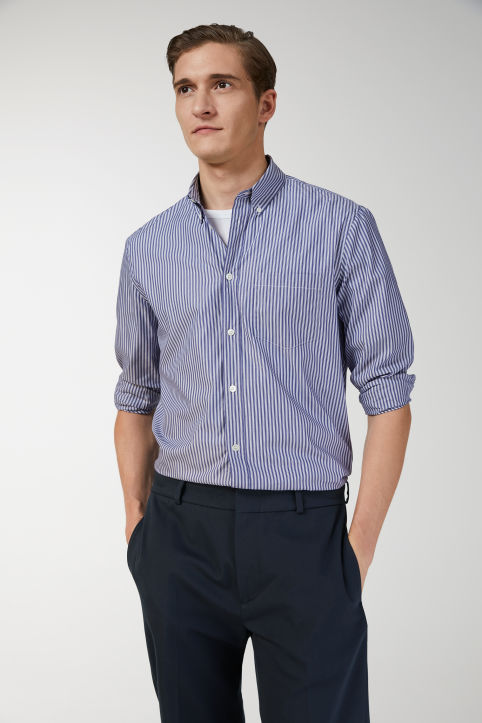 Shirt 3 Striped Poplin