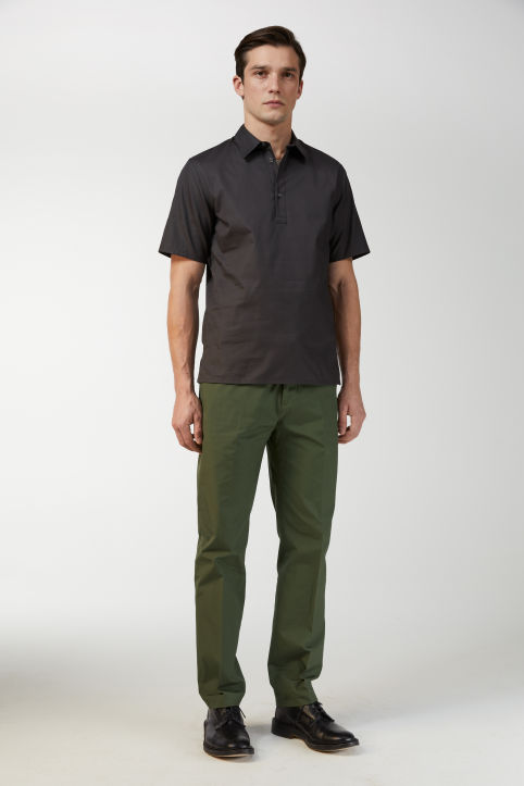 Canvas Officer Trousers, Regular