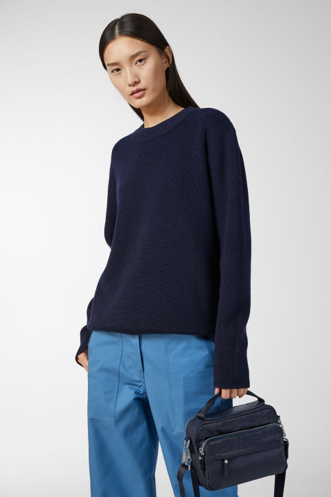 Wool & Cotton Crew-Neck Jumper