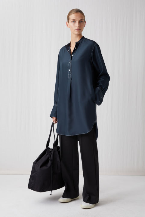Habutai Silk Shirt