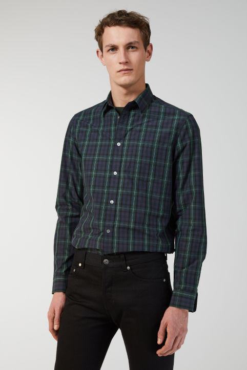 Shirt 11 Black Watch Poplin