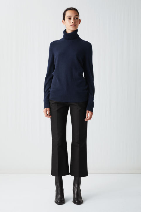 Cashmere Roll-Neck
