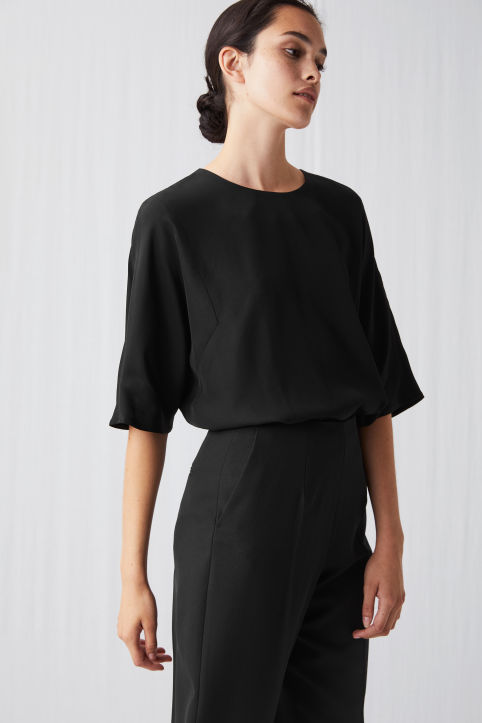 Fluid Crepe Top