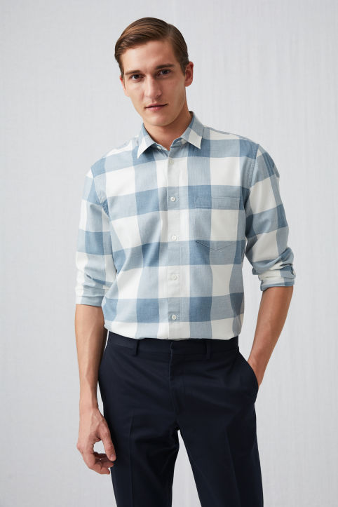 Shirt 13 Checked Twill