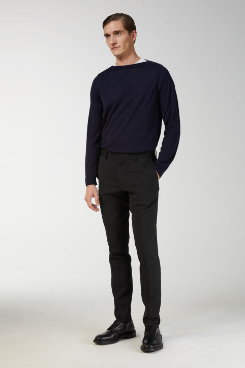 Merino Boat Neck Jumper