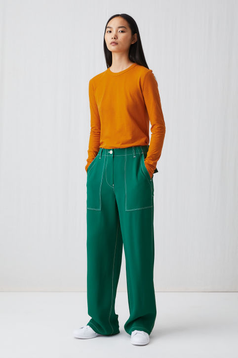 Fluid Workwear Trousers