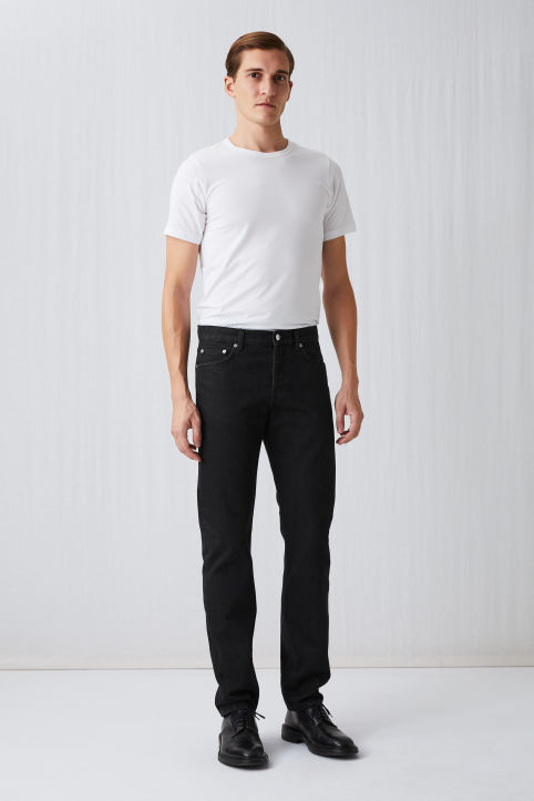 Regular Grey Selvedge Jeans