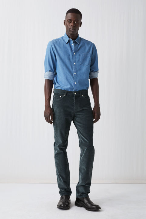 5-Pocket Corduroy Trousers