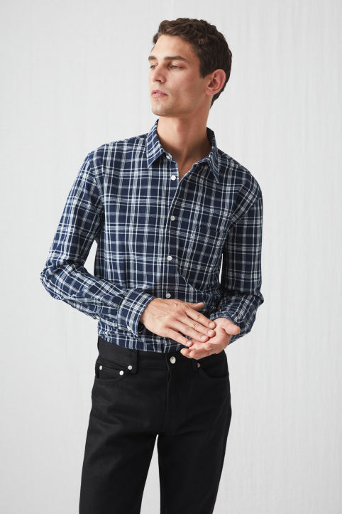Shirt 13 Indigo Check