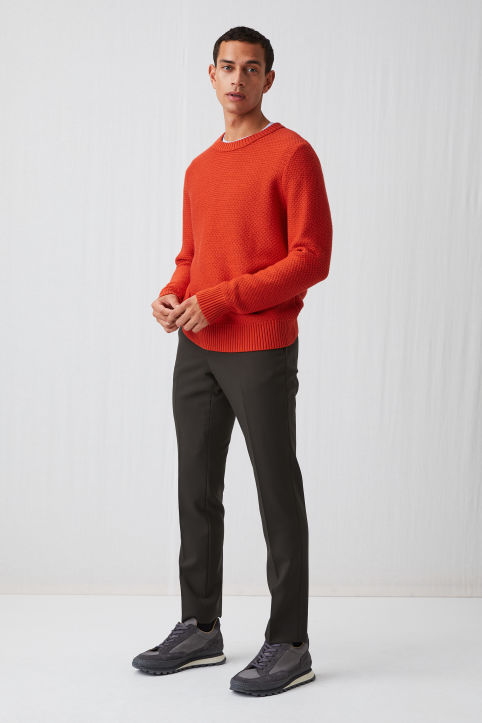 Cotton Merino Jumper