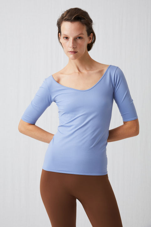 Scooped Yoga Top