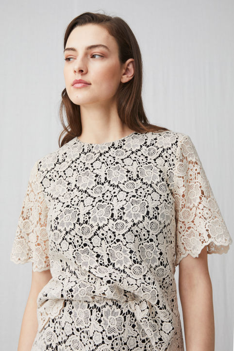 Cotton Lace Top