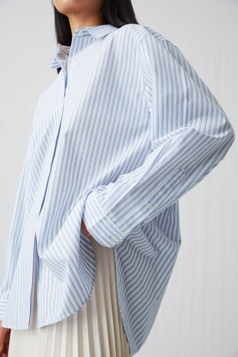 Relaxed Striped Shirt