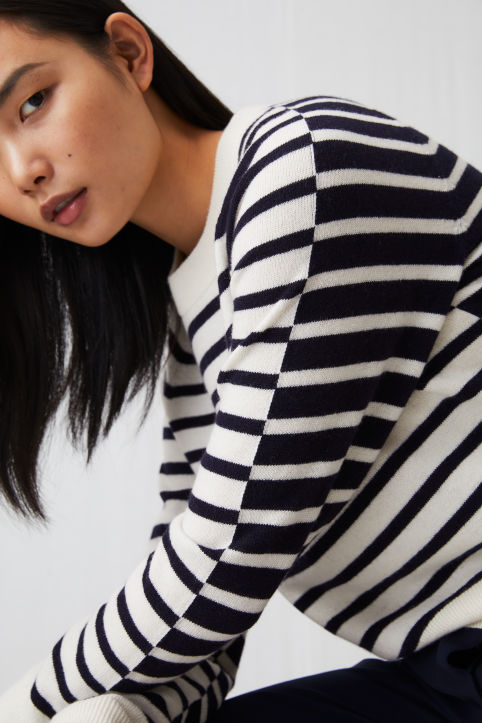 Striped Merino Jumper