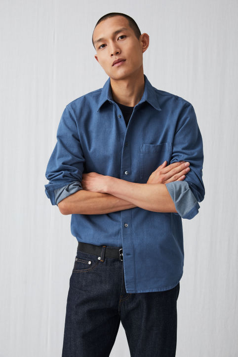 Coloured Denim Overshirt
