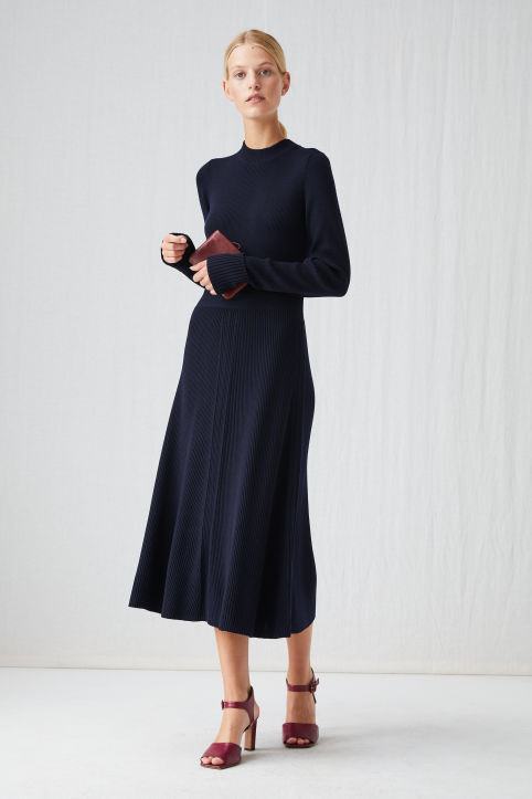 Merino Wool Knitted Dress