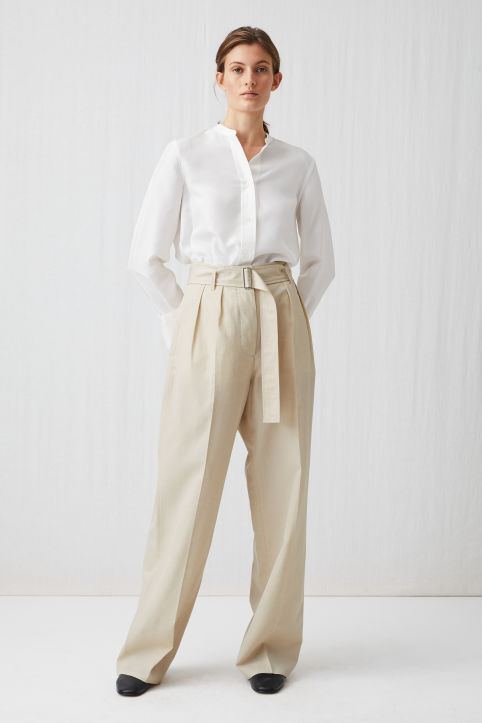 Wool Linen Trousers