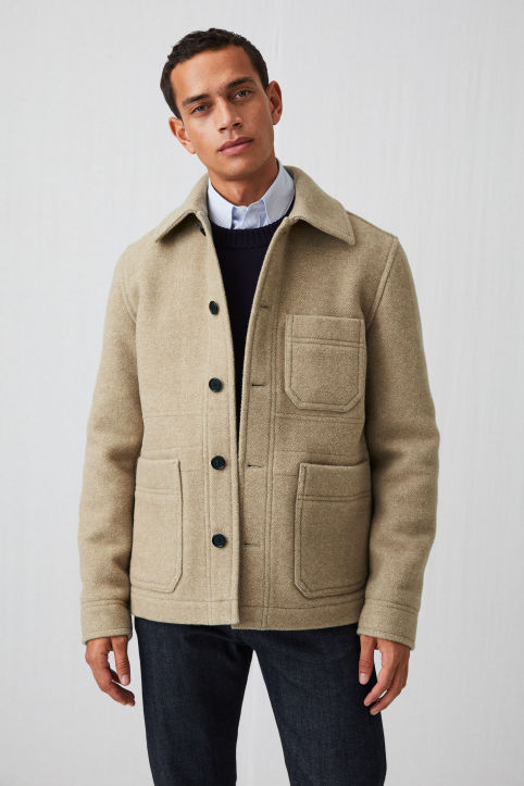 Wool Workwear Jacket