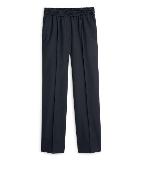 Wool Hopsack Blazer Blue Tailoring ARKET