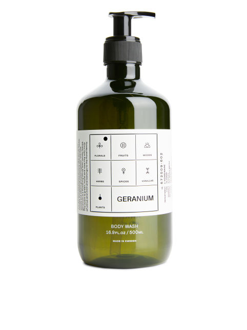 Front image of Arket body wash, 500 ml in green