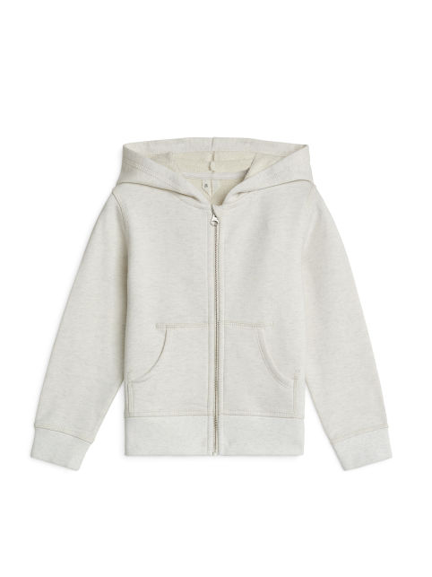 Organic Cotton Zip Sweatshirt