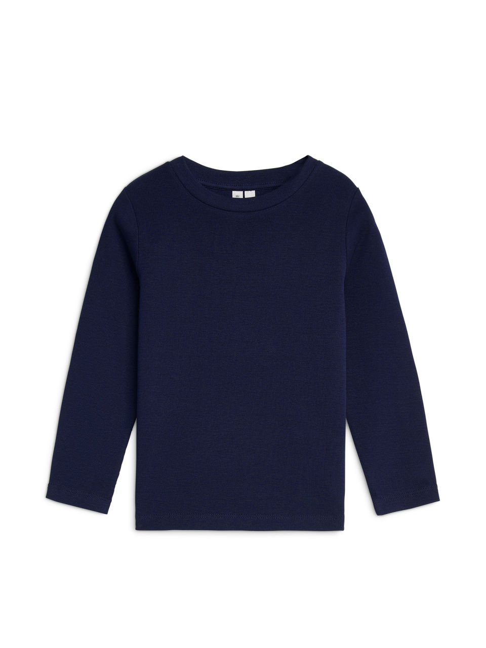 Front image of Arket long-sleeve t-shirt in blue