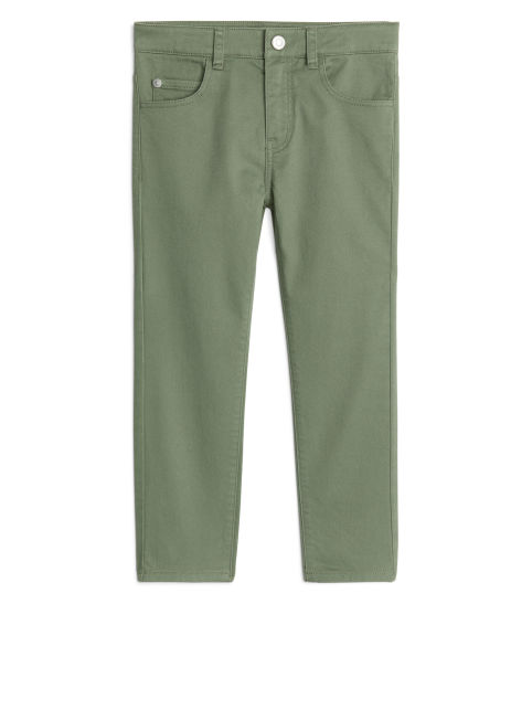 Slim Cotton Twill Trouser